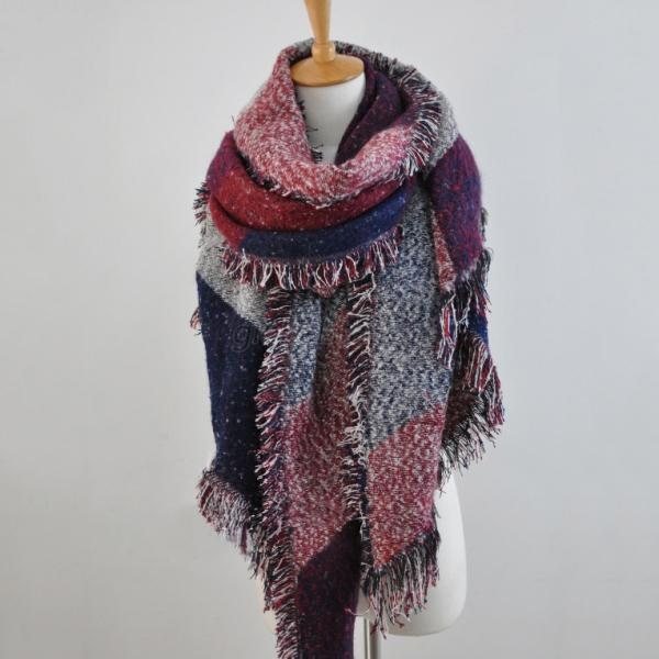 Women-Retro-Fashion-Tassel-Thick-Long-Cashmere-Stole-Scarves-Scarf-Shawl-Wraps