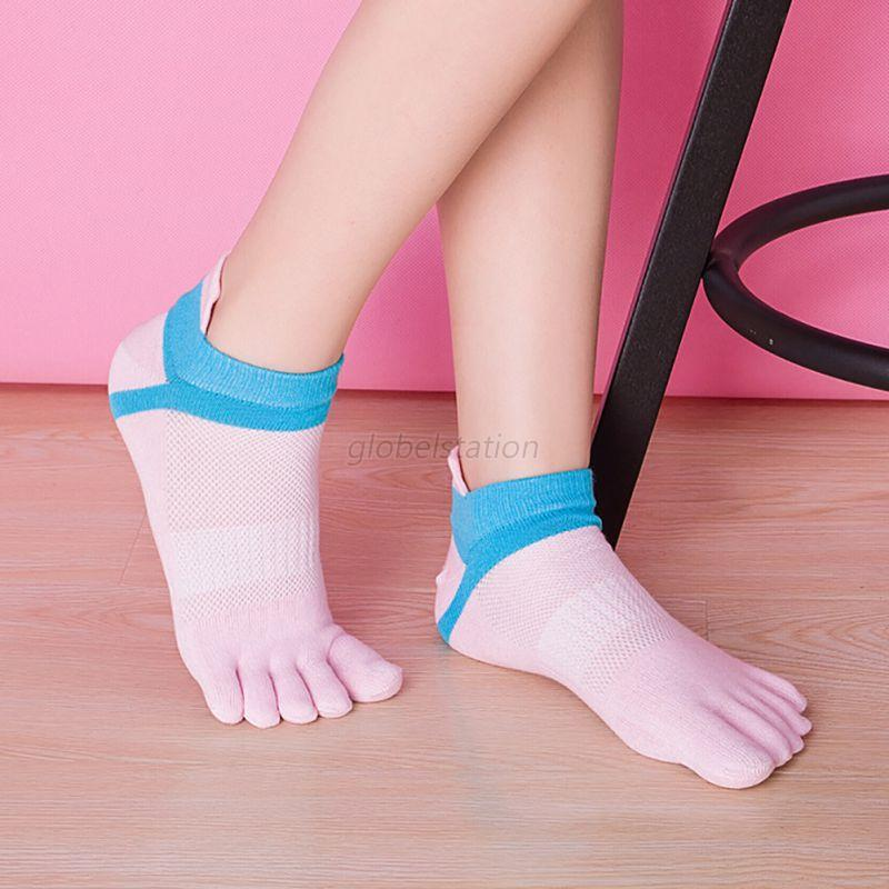 women men socks cotton sport casual breathable five finger