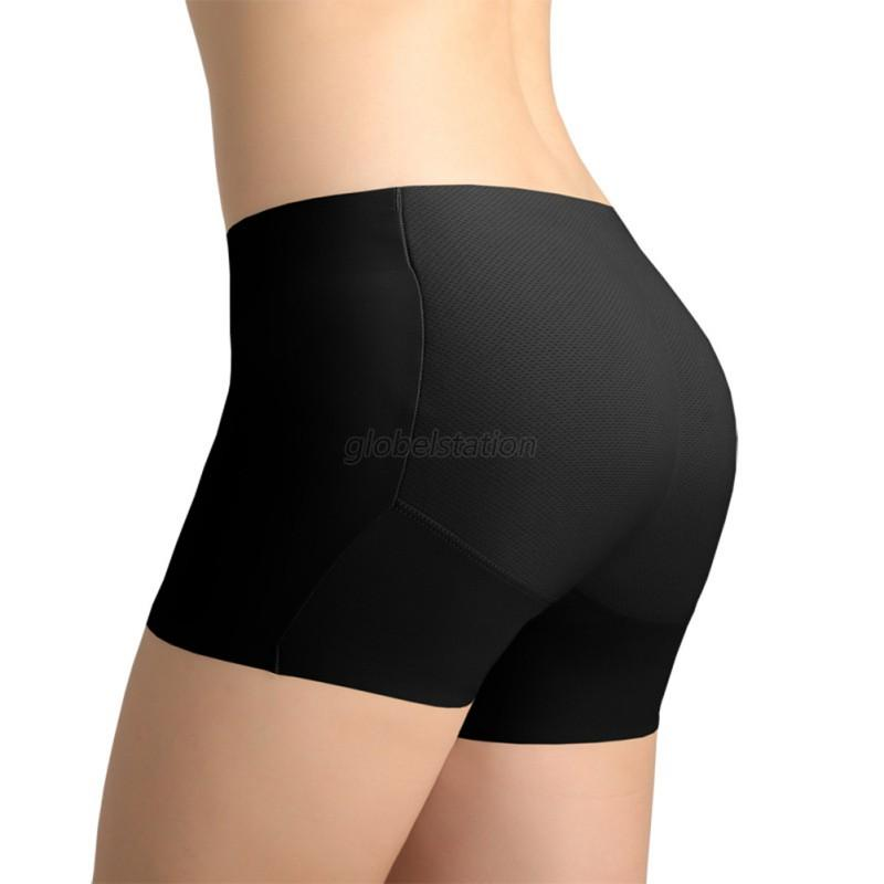 Padded Briefs Butt Hip Enhancer Bottom Underwear Bum Fake Ass ...