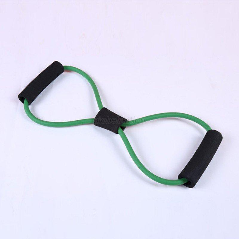 Rubber Exercise Tubing Bands: Sport Resistance Loop Band Exercise Yoga Bands Rubber