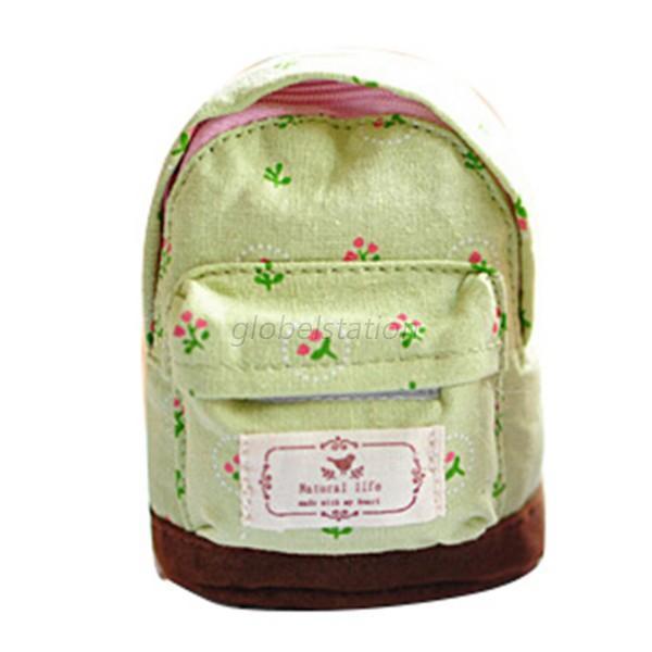 mini pouch coin purse small cute backpack canvas bag