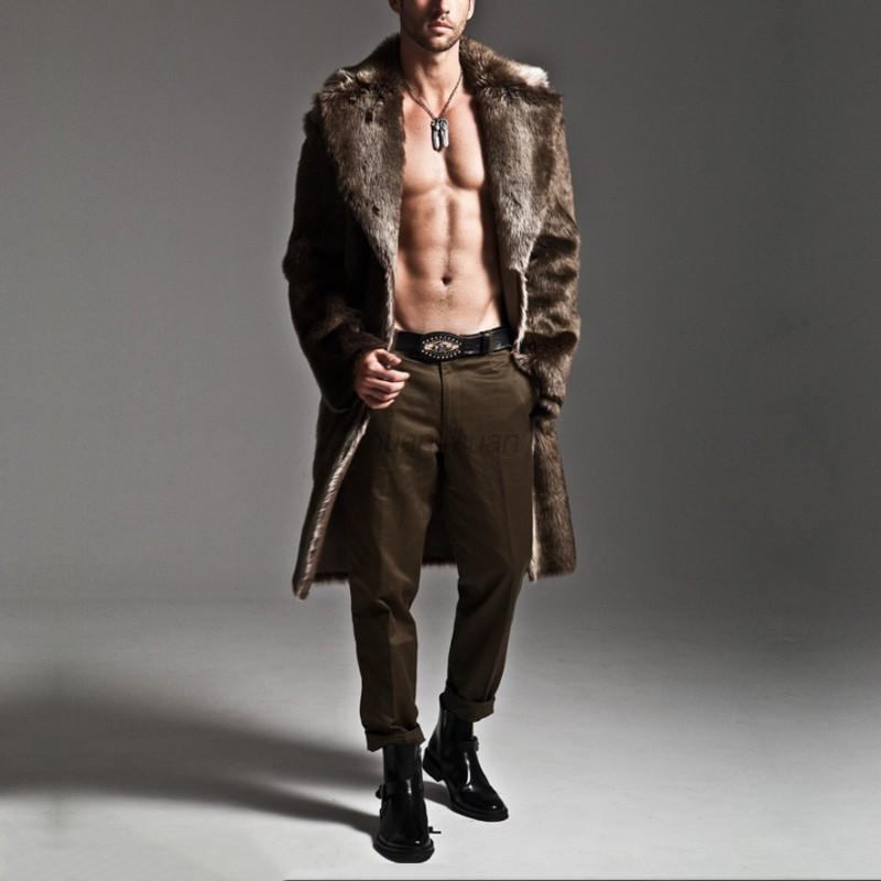 AU-Mens-Winter-Warm-Faux-Fur-Overcoat-Jackets-Parka-Outerwear-Thicken-Long-Coat