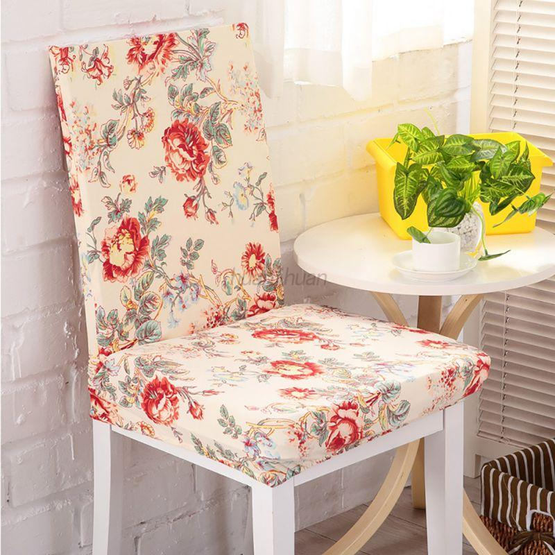 AU Removable Dining Room Chair Cover Washable Stretch