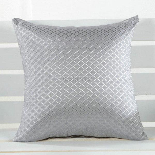 Elegant Hot Grid Throw Pillow Case Home Car Sofa ...