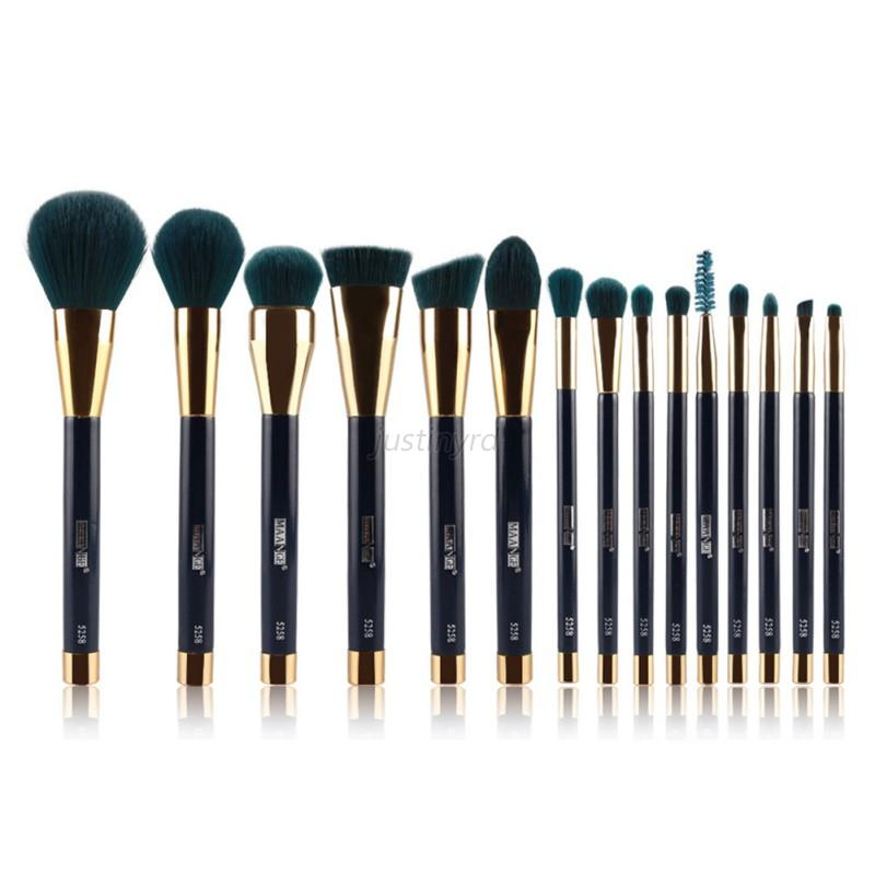 Pro-New-15Pcs-Pro-Makeup-Brushes-Cosmetic-Powder-Foundation-Make-Up-Brush-Set