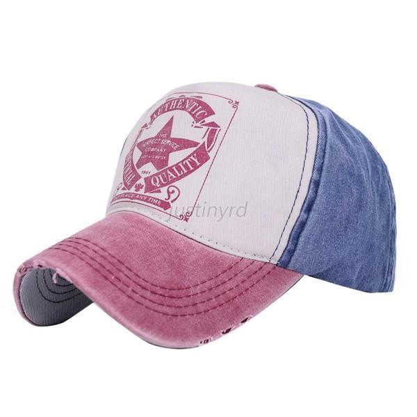 Trendy Summer Men Women Outdoor Sports Hat Letter Print ...