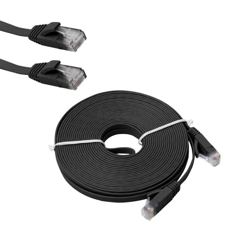useful flat cat6 rj45 ethernet network lan cable utp patch. Black Bedroom Furniture Sets. Home Design Ideas