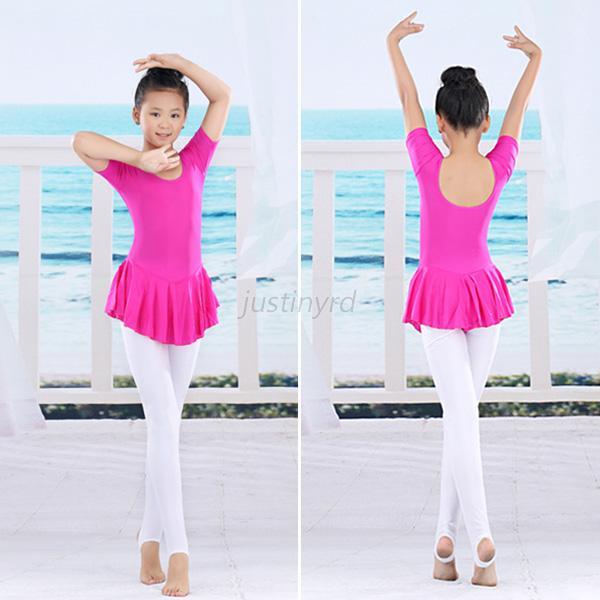 Sweet Girls Child Gymnastics Dance Dress Kids Ballet