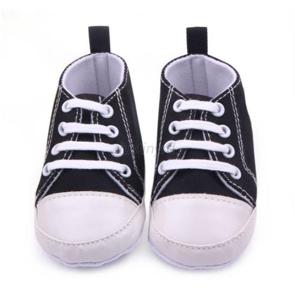 12 colors newborn toddler canvas sneakers baby boy