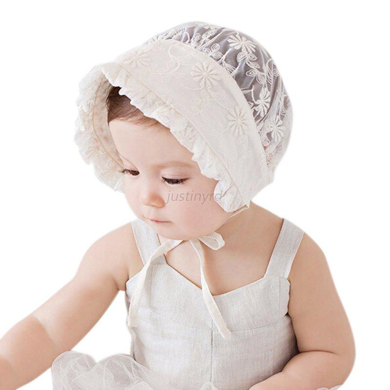 Cute Toddler Baby Boys Girls Lace Hollow Hat Cap Soft ...