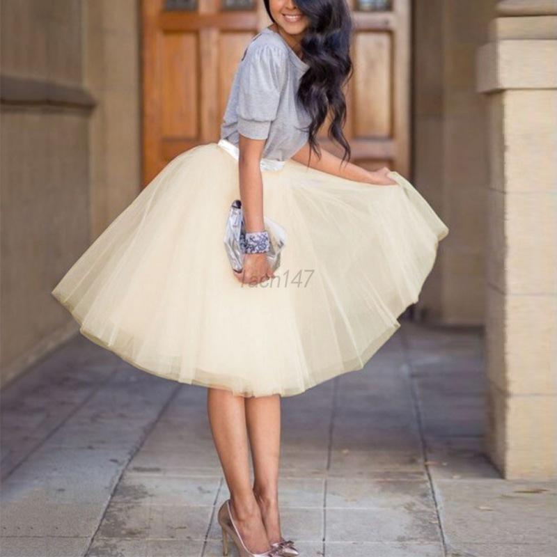 White Skirt Women 26