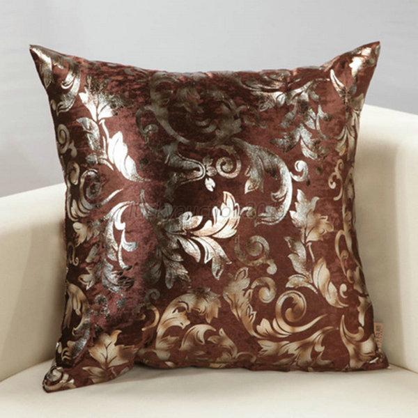 luxury silver floral cushion throw pillow case cover sofa decor multi colors l92 ebay. Black Bedroom Furniture Sets. Home Design Ideas