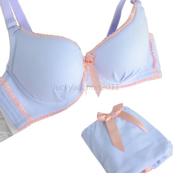 Women's Bra Set Lace Underwire Lingerie Underwear Push-Up Bras Padded Brassiere