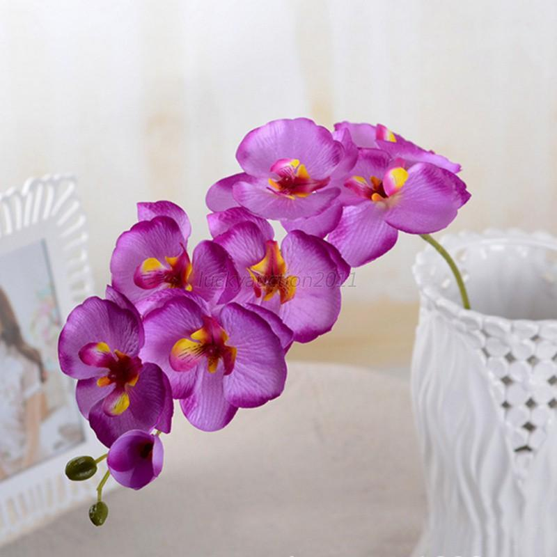 Artificial butterfly orchid silk flower bouquet phalaenopsis wedding artificial butterfly orchid silk flower bouquet phalaenopsis wedding mightylinksfo Image collections
