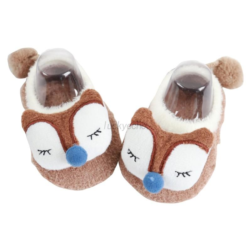 0 5j baby m dchen tier stiefel schuhe neugeborenes anti rutsch warm socken neu ebay. Black Bedroom Furniture Sets. Home Design Ideas