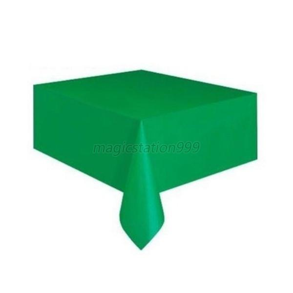 High quality table covers rectangle oblong party decor plastic table