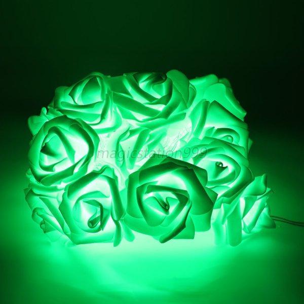 Xmas String Lights Rose Flower Fairy 20 LED Indoor Party Light Bedroom Decor UK eBay