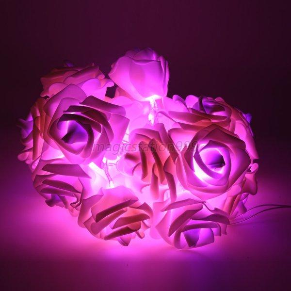 flower lights for bedroom string lights flower 20 led indoor 15271