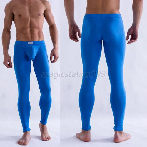Sexy Men's Modal Tight Long Johns Thermal Underwear Solid ...