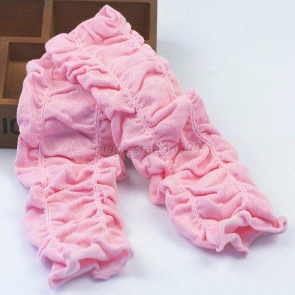 Newborn Baby Boy Girl Infant Wrinkled Leggings Socks Kids