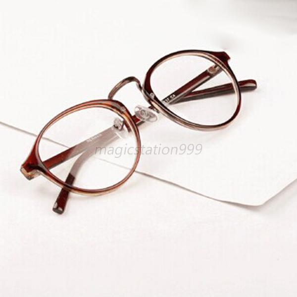 classique femme homme cadre rond lunettes yeux accessoire lunettes de vue ebay