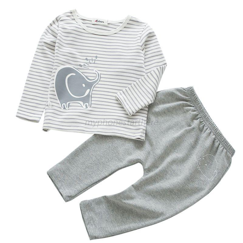 2PCS-Toddler-Bebe-Kids-Boys-Long-Sleeve-Ropa-Clothes-T-shirt-tops-Pants-Outfit
