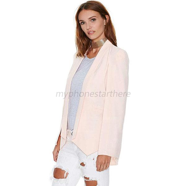 Women-Lady-Long-Sleeve-Lapel-Split-Coat-Pockets-Blazer-Cape-Office-Suit-3-Colors