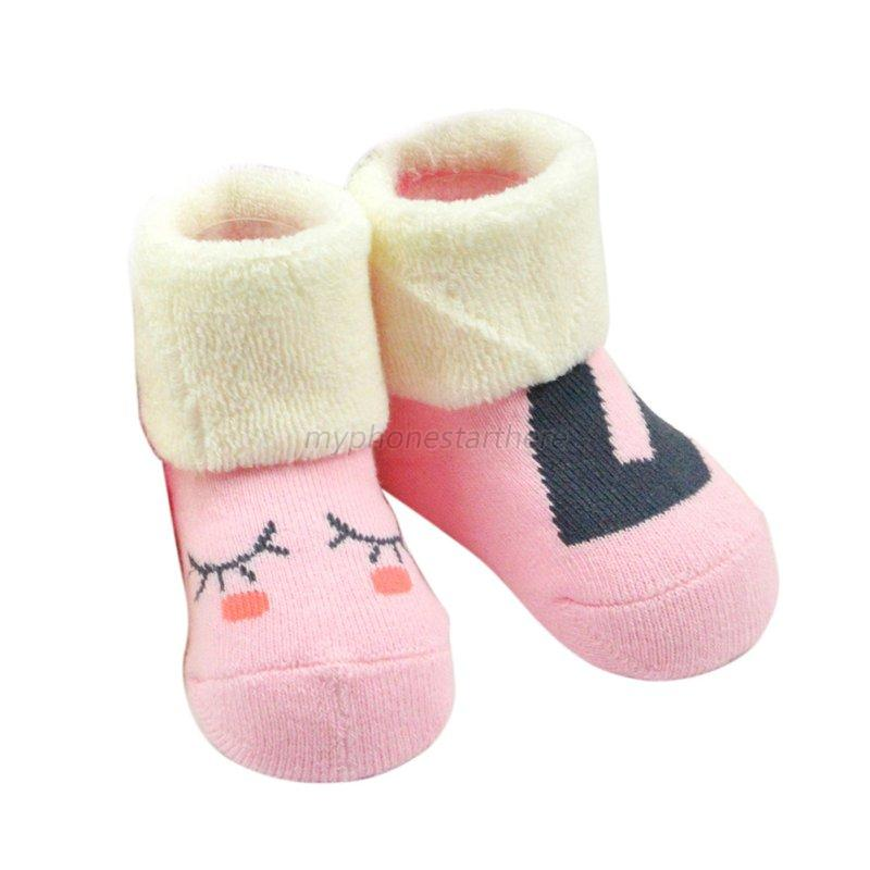 Baby Kids Winter Warm Thicken Socks Boy Girl Cotton Terry