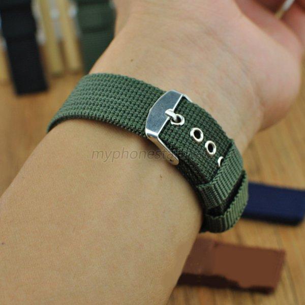 Fabric-18-24mm-Military-Army-Nylon-Strap-Sports-Canvas-Wrist-Watch-Band-1Pcs-M53