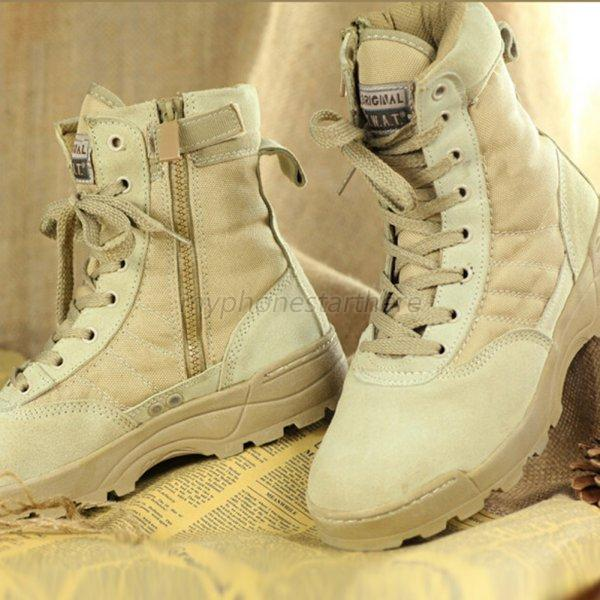 Men Desert Tan Military Boot Forced Entry Deployment