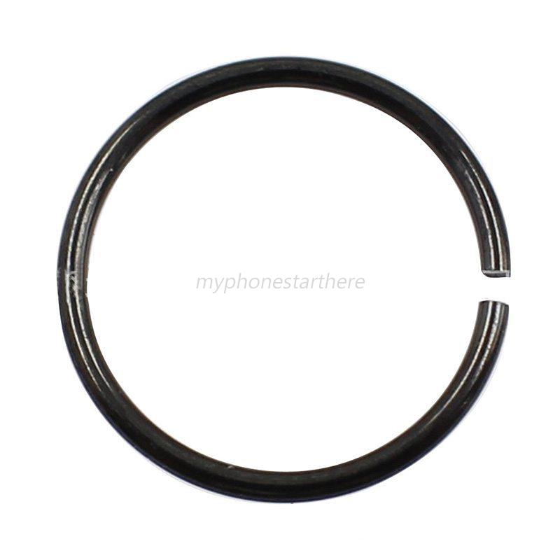 0 8mm surgical steel thin small silver nose ring hoop