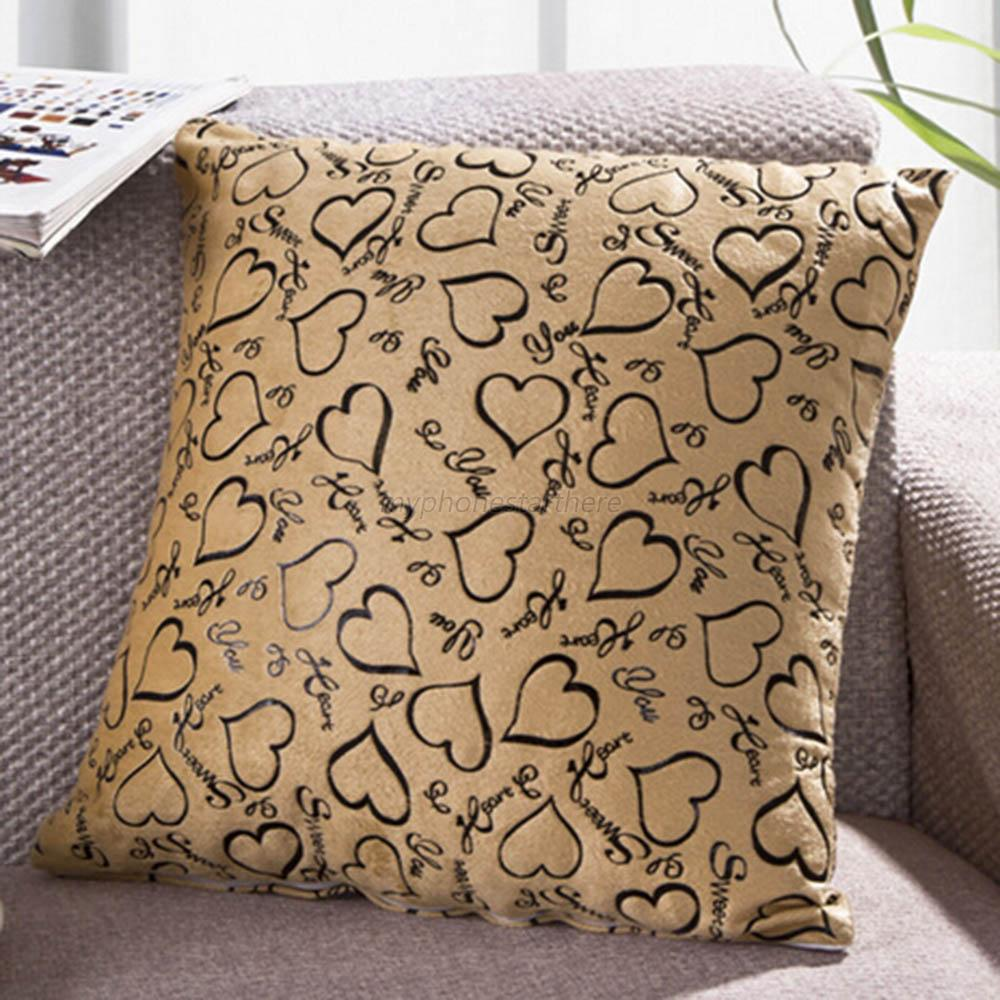 Decorating With Pillows: Throw Pillow Case 40 X 40cm Sofa Home Bed Decor Cushion