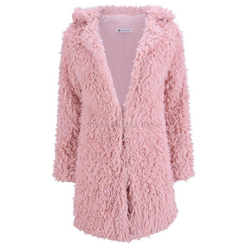 Women-Winter-Warm-Faux-Fur-Coat-Jacket-Long-Sleeve-Trench-Parka-Cardigan-Outwear