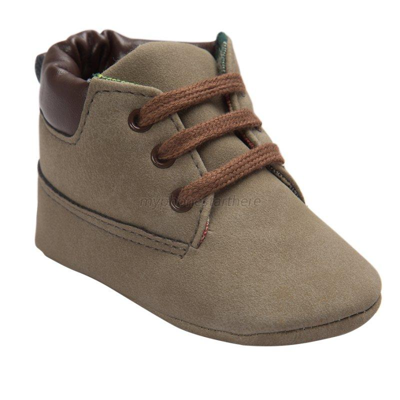 baby toddler ankle boots crib shoes boy slip on