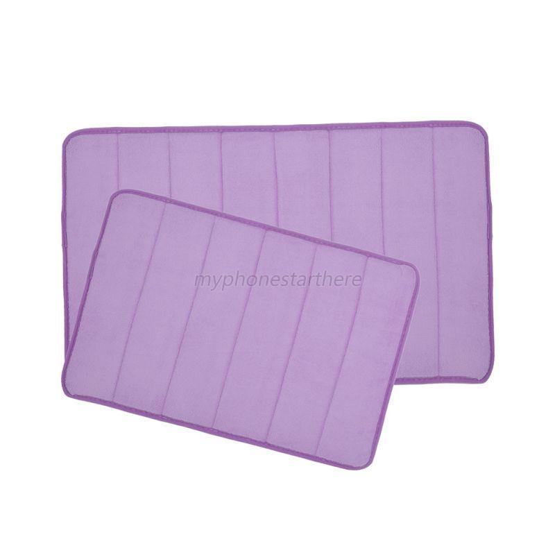 soft non slip shower bath mat bathroom bedroom kitchen high quality large strong suction anti non slip bath