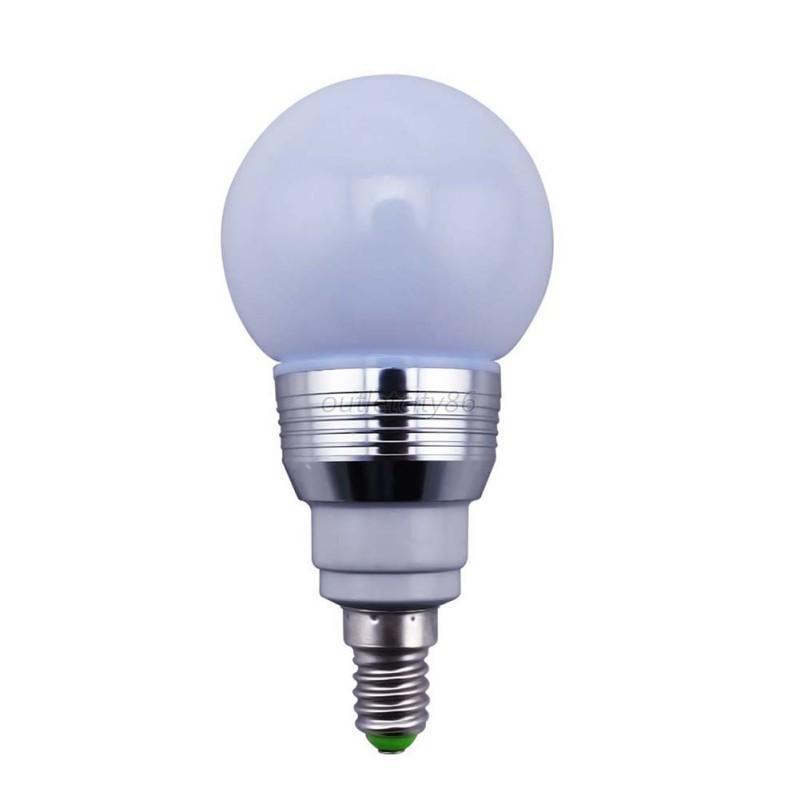 16 color 5w led light change bulb ir remote control party decor e27 e14 b22 rgb. Black Bedroom Furniture Sets. Home Design Ideas