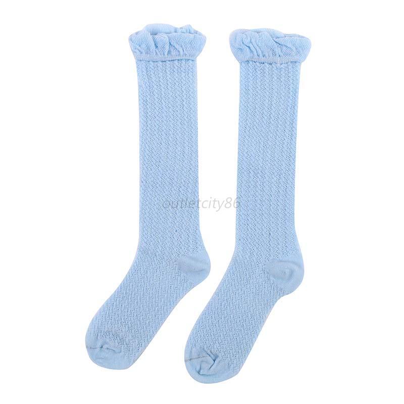 Toddlers Knee High Socks Baby Kids Girls Tights Leg Warmer