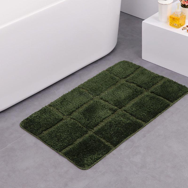 fluffy non slip bathroom shower lattice mat floor rug carpet pad multicolor home ebay. Black Bedroom Furniture Sets. Home Design Ideas
