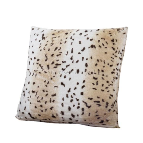 1Pcs Animal Zebra Leopard Print Pillow Case Sofa Waist Throw Cushion Cover Decor eBay