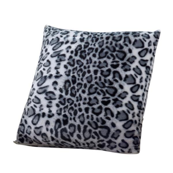 1pcs animal zebra leopard print pillow case sofa waist