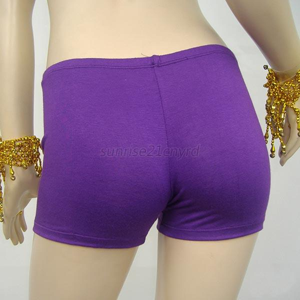 Women Belly Dance Sport Safety Underwear Yoga Shorts Pants
