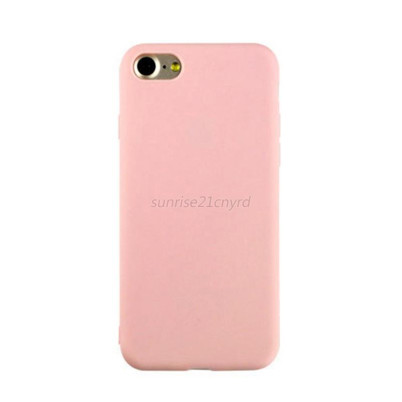 for iphone 7 7s back cover slim soft gel tpu silicone