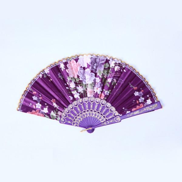 how to make a fabric folding fan