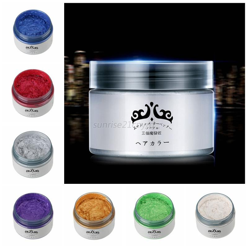 hair styling wax one time molding paste hair style styling hair color wax 1754