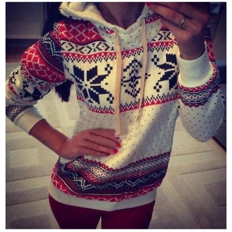 AU-Women-Hoodie-Sweater-Long-Sleeve-Sweatshirt-Jumper-Hooded-Pullover-Coat-Tops