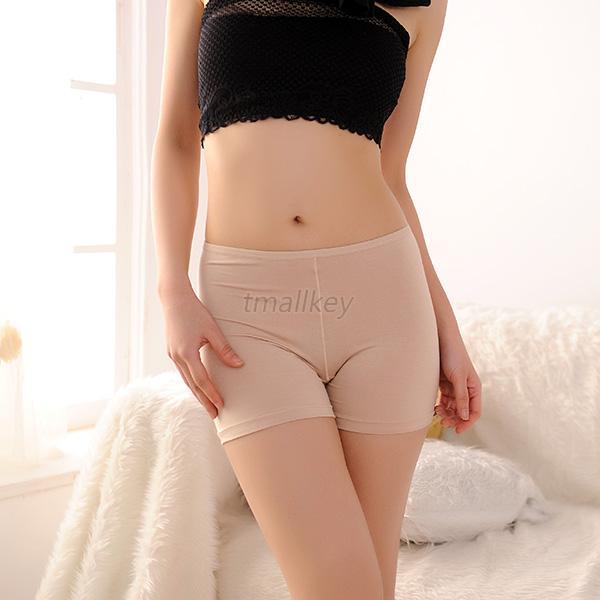 Women Girl Safety Underwear Modal Seamless Tight Legging