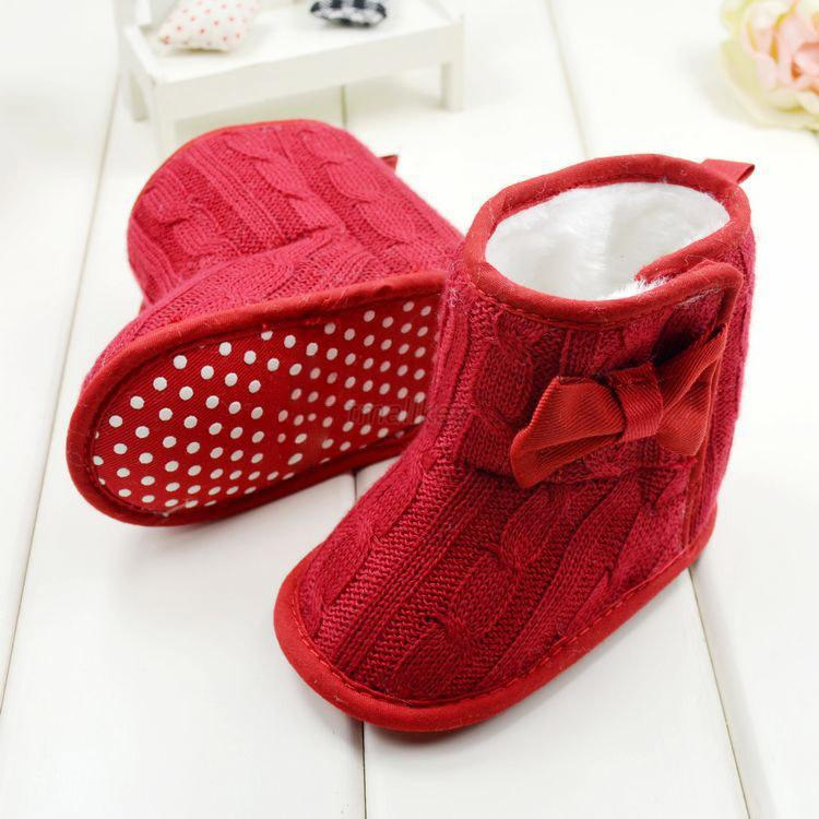Baby Knitted Shoes Ebay