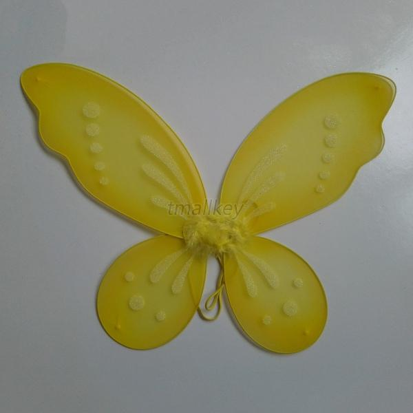 Best-Sale-Child-Baby-Kid-Girl-Shimmer-Butterfly-Wings-Dress-Up-Shooting-Prop