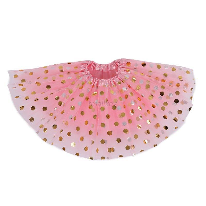 AU-Child-Kid-Girl-Tulle-Ballet-Tutu-Skirt-Round-Sequins-Dance-Wear-Short-Clothes