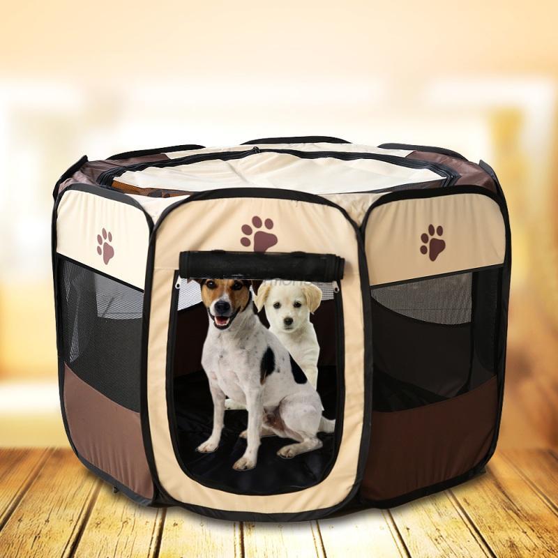 Portable Cat Playpen Tent Large Pet Dog Animal